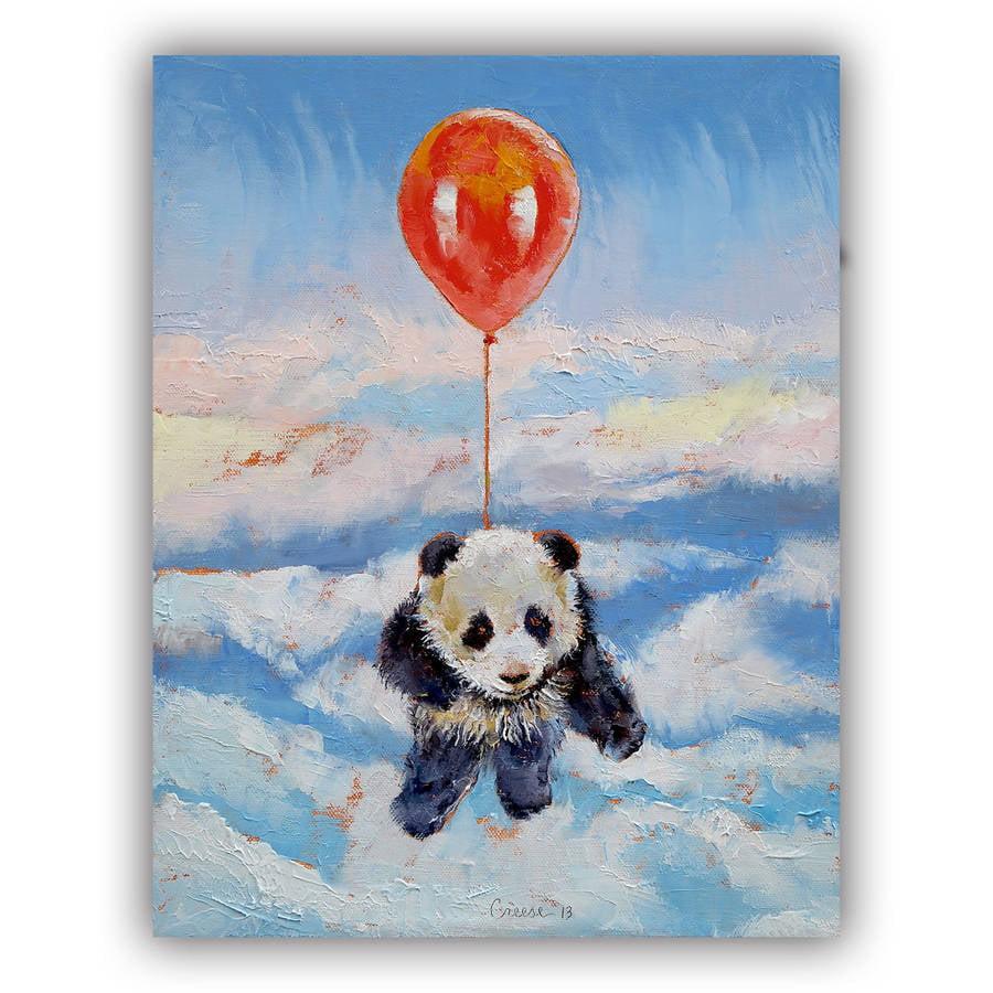 "ArtWall Michael Creese ""Balloon Ride"" ArtAppealz Removable Wall Art"