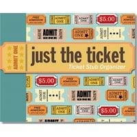 Just the Ticket : Ticket Stub Organizer