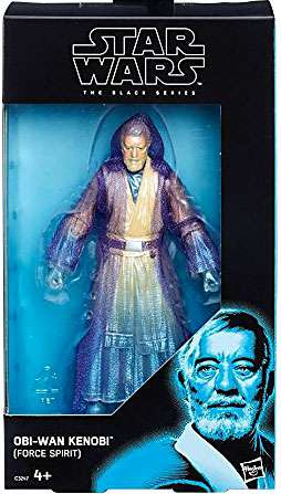 "Force Spirit Obi-Wan Kenobi Star Wars Black Series 6"" Exclusive Action Figure"