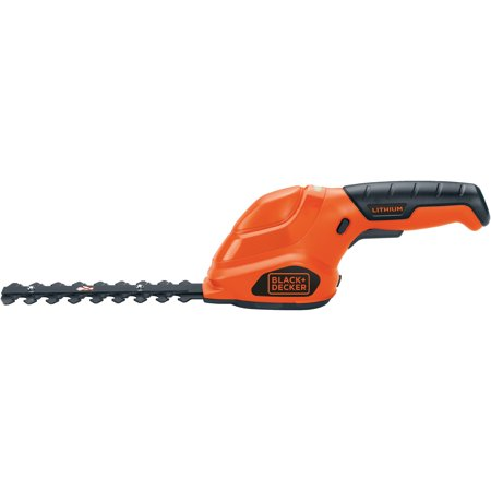 Cordless Offset Shear (BLACK+DECKER GSL35 3.6V Lithium 2-n-1 Cordless Grass Shear/Shrubber Combo )