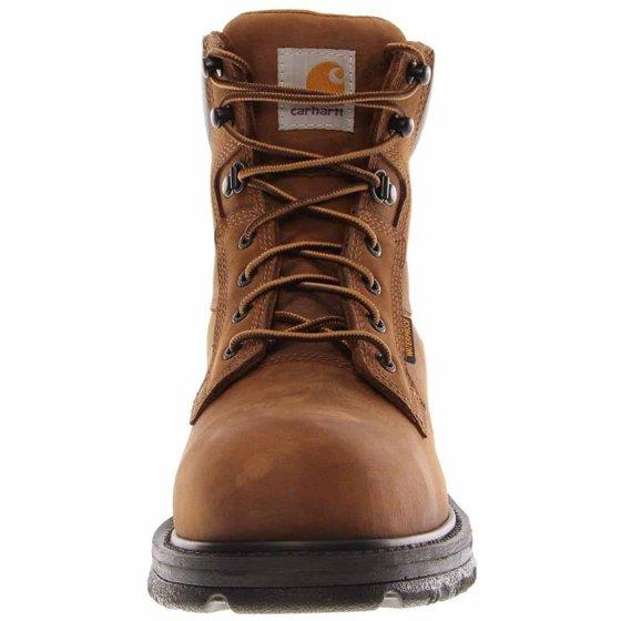 5efa228def0 Carhartt CMW6220 6-Inch Bison Brown Safety Toe Work Boot-11.5W/X