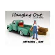 American Diorama 23857 Hanging Out Bob Figure for 1-18 Scale Models