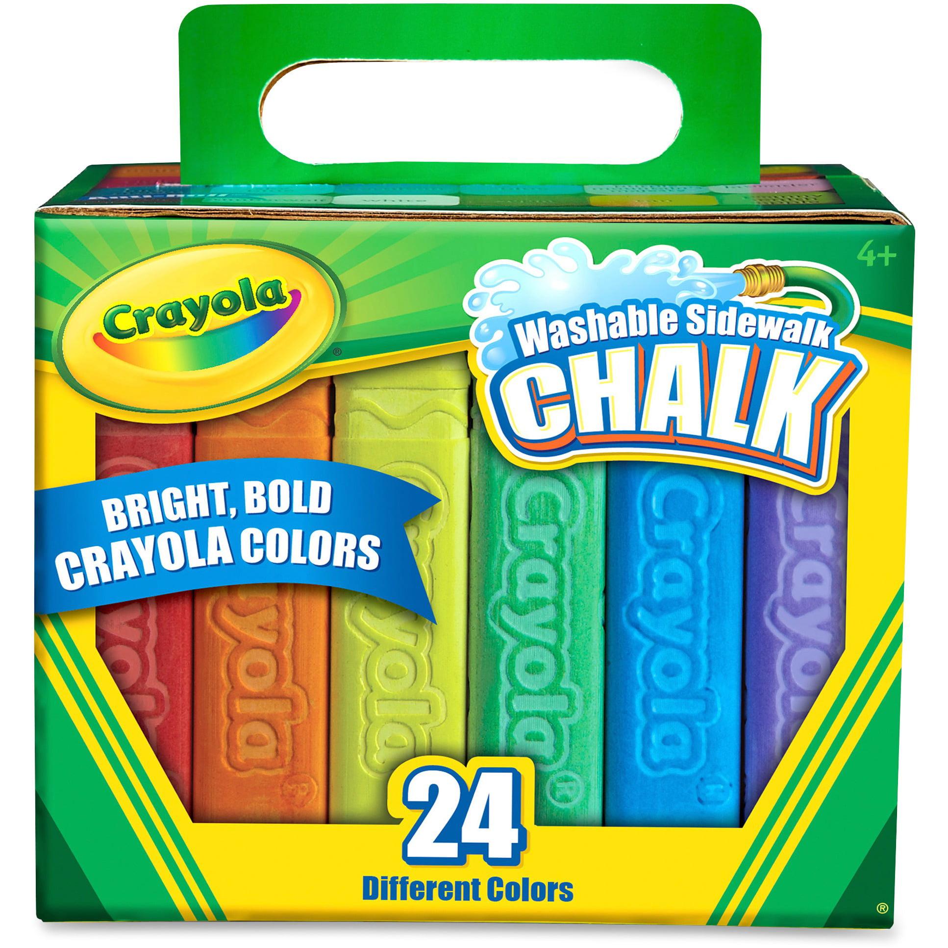 Crayola Sidewalk Chalk, 24-Pack