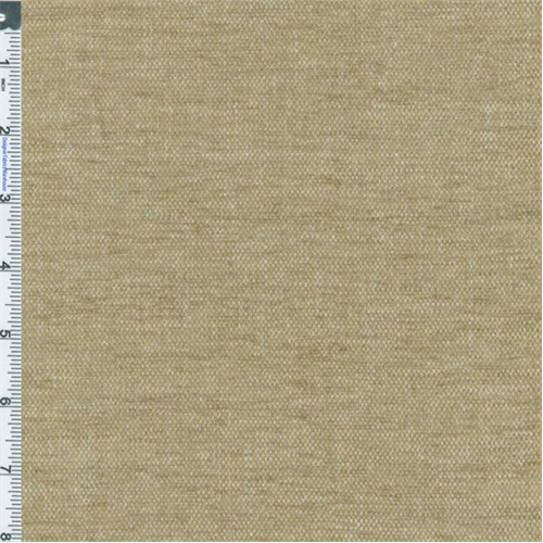 Linen Beige/Brown Chenille Home Decorating Fabric, Fabric By the Yard
