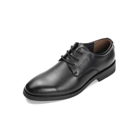 Meigar Men's Oxfords Pointed Toe Leather Shoes Dress Business Shoes