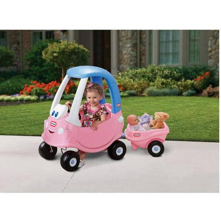Little Tikes Princess Cozy Coupe Trailer Walmart Com