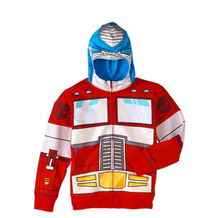 Transformers Boys' Optimus Prime Costume Graphic Hoodie
