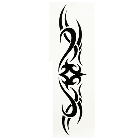 Perfect Symmetry Abstract Temporary Tribal Tattoo