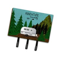 Caroline's Treasures Airstream Camper Adventure Awaits Leash or Key Holder