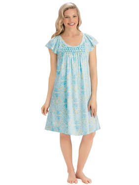 Collections Etc Womens Nightshirts   Gowns - Walmart.com 424e6e1c9