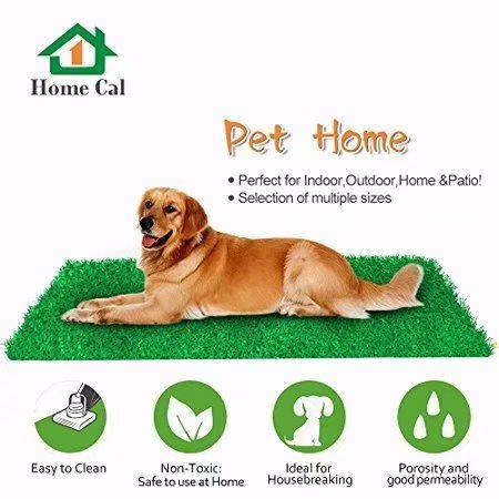 Home Cal Artificial Grass Outdoor Rug 40x28 Faux Fake Grass Decor Mat Rug Carpet Turf Neat Edge For Home Pet Lawn And Landscape Outdoor Or Indoor