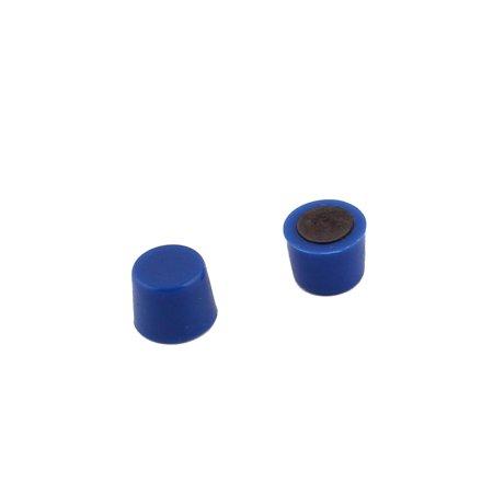 Classroom Whiteboard Refrigerator Plastic Mini Magnetic Sticker Blue 12pcs - image 1 of 2