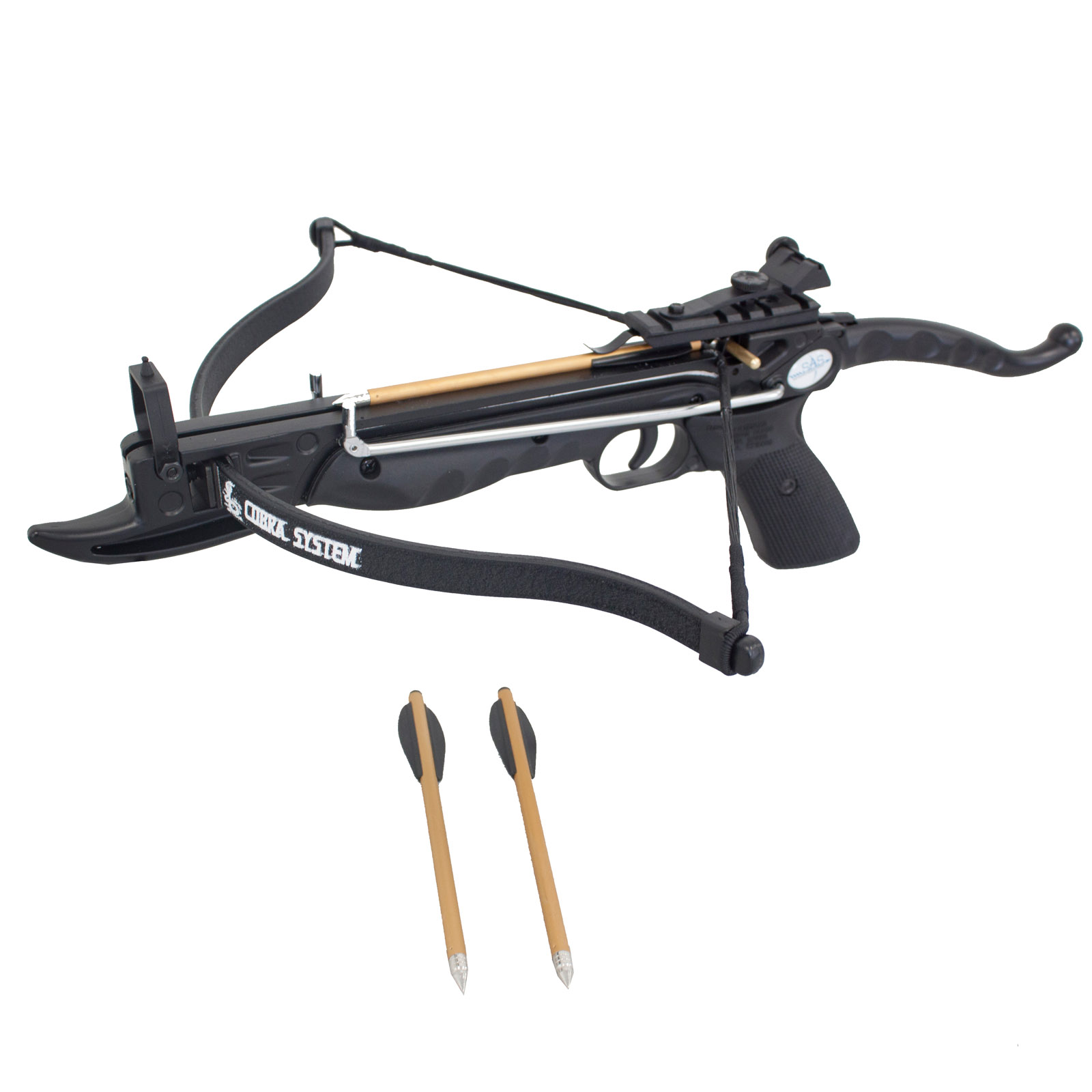 SAS Prophecy 80 lbs Self-cocking Mini Crossbow - Black