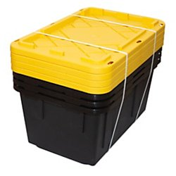 22 Storage - GreenMade Professional Storage Boxes, 27 Gallons, 22 1/2