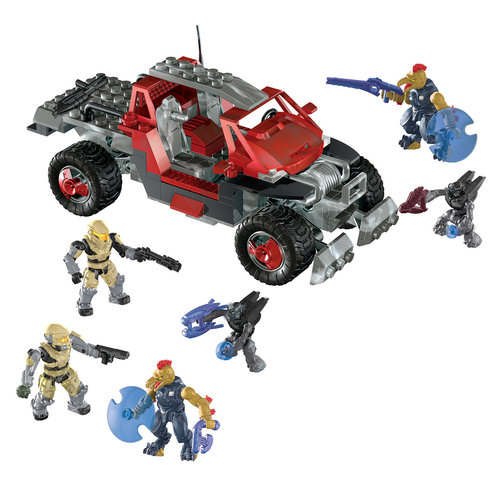 Mega Bloks Halo UNSC Red Spade Play Set