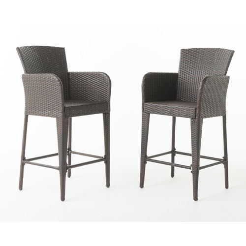 Beautiful Latitude Run Noah 28u0027u0027 Patio Bar Stool (Set ...