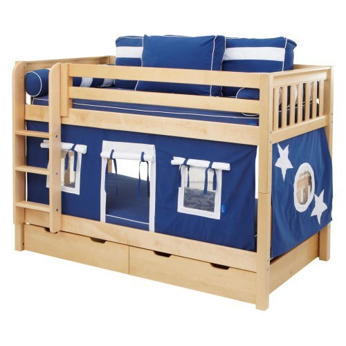 Hot Shot Boy Twin over Twin Tent Bunk Bed