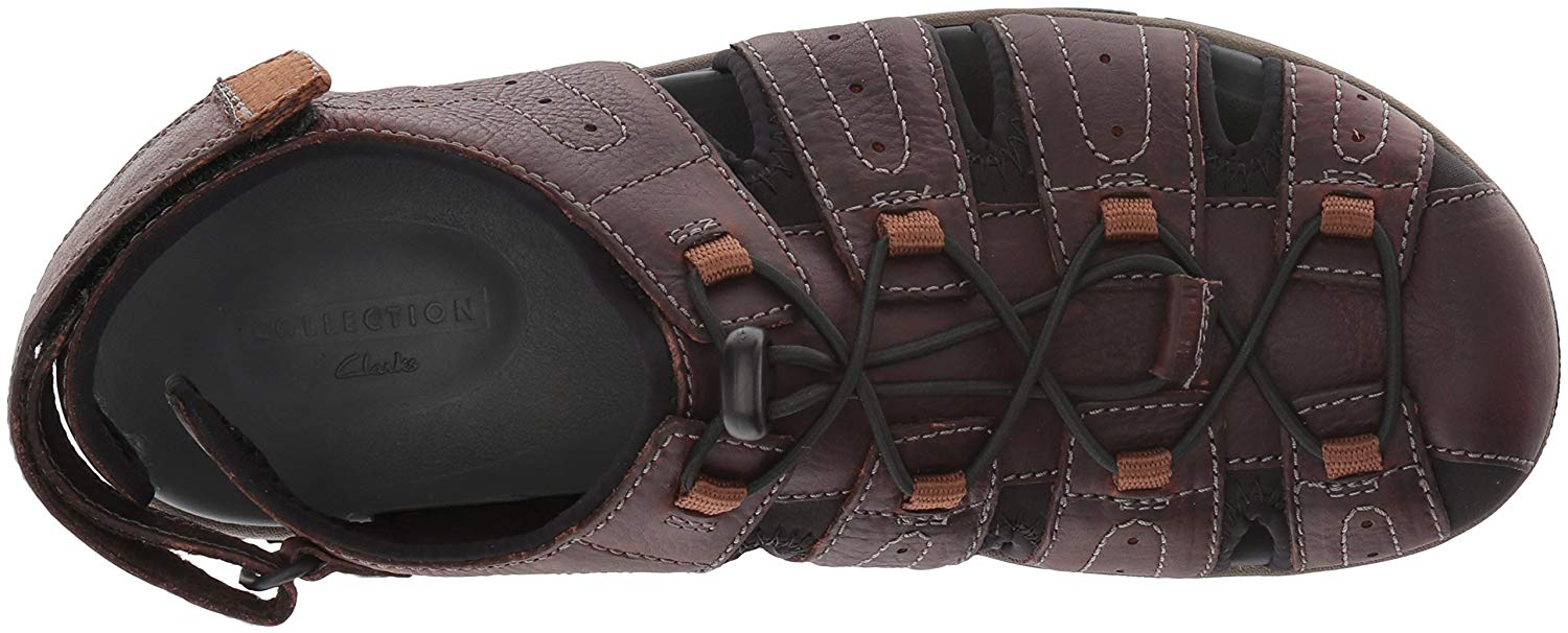 19a36985 Clarks Mens Brixby Cove Leather Closed Toe Sport   Walmart Canada
