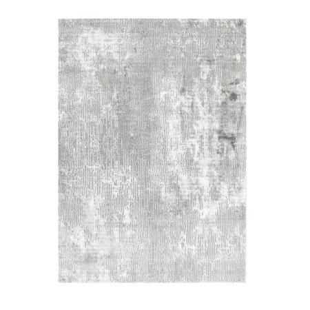 Allure Collection - Gray, Modern Distressed Textured Soft Area (Allure Collection)
