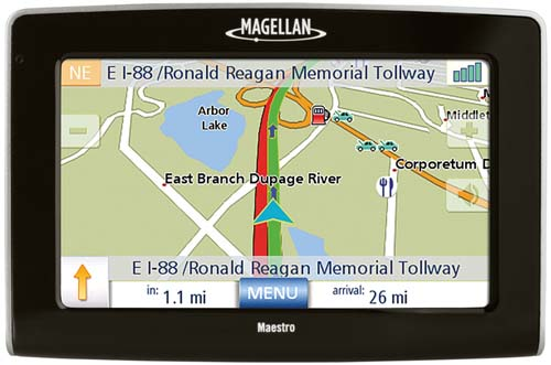 Refurbished Magellan Maestro 4250 Maestro 4250 Special GPS Vehicle Navigation System by Magellan