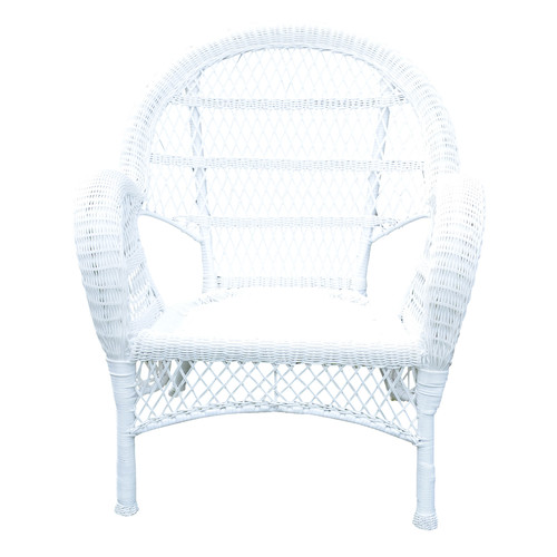 Jeco Inc. Wicker Armchair Chair (Set of 4) by Jeco Inc.