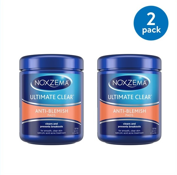 Can noxzema help with facial blemishes