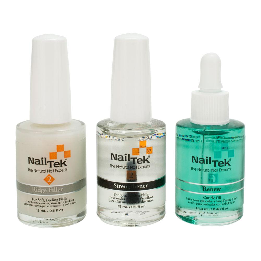 Nail Tek Nail Recovery Kit for Damaged Nails Base Coat Strengthener ...