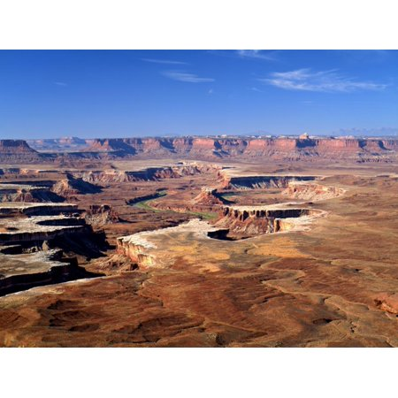 - Canyonlands National Park From Island in the Sky, Green River, Turks Head, Utah, USA Print Wall Art By Bernard Friel