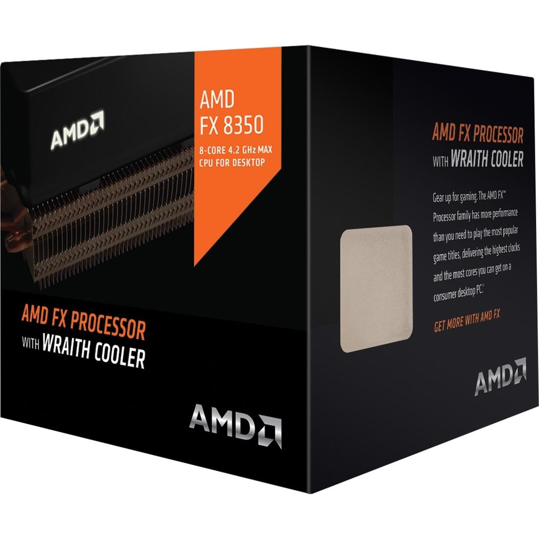 Octa-core FX-8350 4GHz Desktop Black Edition Processor