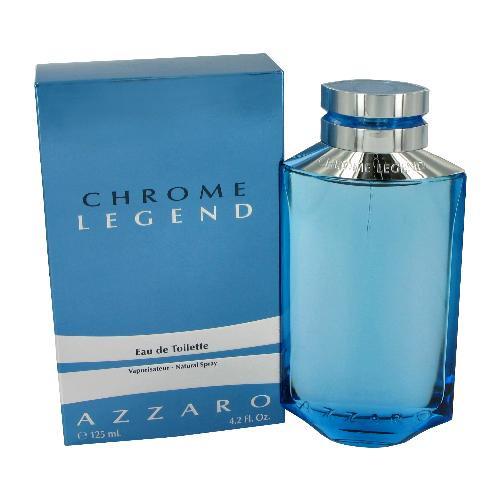 Azzaro Chrome Legend Eau De Toilette Men Spray , 4.2 Oz