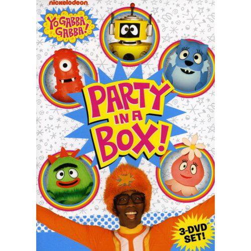 Yo Gabba Gabba!: Party In A Box - Birthday Boogie / The Dancey Dance Bunch! / Clubhouse (Full Frame)