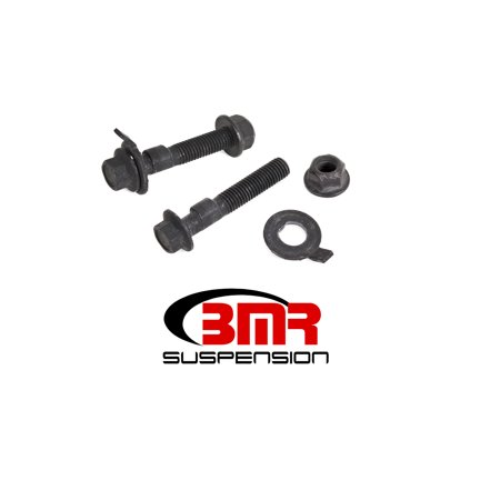 BMR SUSPENSION FC003 Control Arm Fastener Kits 15-17 Mustang Camber Bolts Front 2.5 Degree (Suspension Bolt Kit)