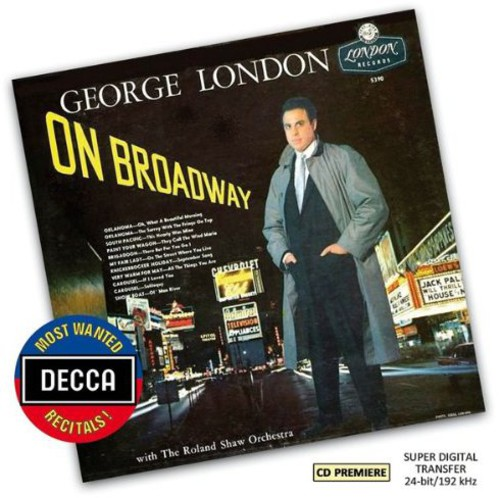 London   Roland Shaw Orchestra Most Wanted Recital: George London on Broadway [CD] by