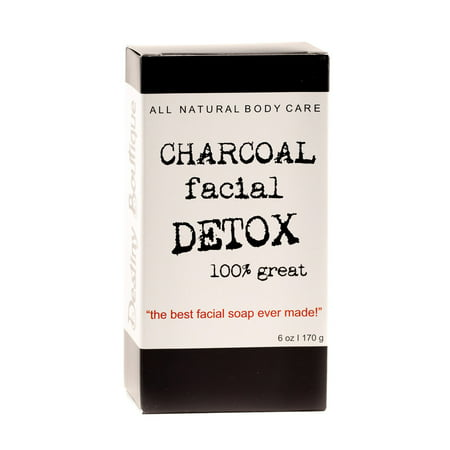 Destiny Boutique Charcoal Facial DETOX Soap