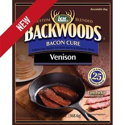 Brand New Backwoods Venison Bacon Seasoning Cure by