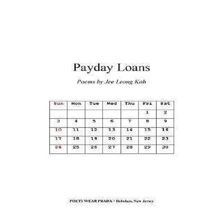 Payday Loans  Poems