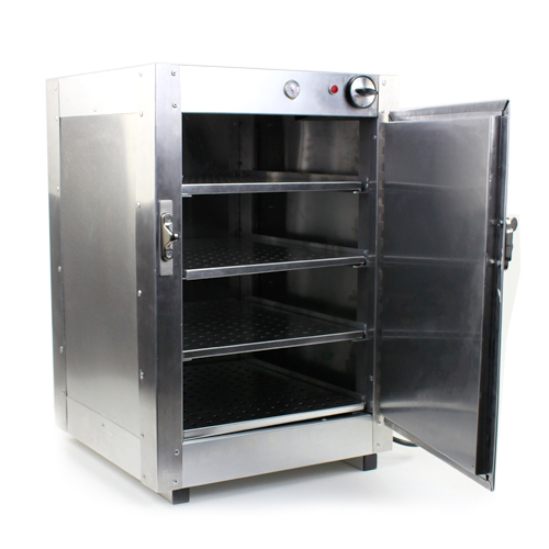 Gentil HeatMax Commercial Food Pastry Warming Case Aluminum 16x16x24 Hot Box  Cabinet