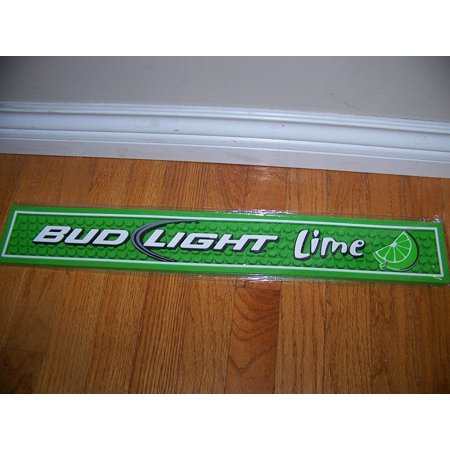 Bud light lime bar drip mat by commercial grade non slip rubber by bud light lime bar drip mat by commercial grade non slip rubber by budweiser aloadofball Images