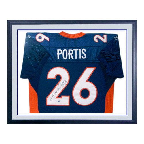 NFL - Clinton Portis Denver Broncos Framed Autographed Jersey