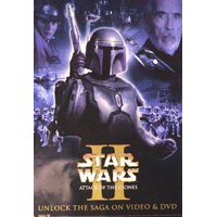 Star Wars Movie Poster Attack Of The Clones - a - New 24x36