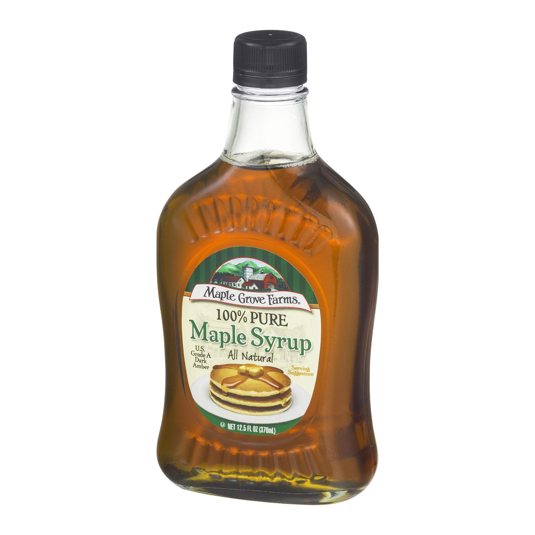 Maple Grove Farms® 100% Pure Maple Syrup 12.5 fl. oz. Bottle ...