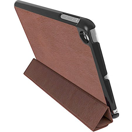 Kensington Protective Cover and Stand for iPad Mini, Brown Marble