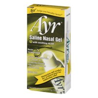 (3 pack) Saline Ayr Nasal Gel 0.5 oz.