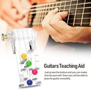 Guitar Learning System Guitars Teaching Aid ABS Pain-proof Guitar Accessories Musical Instrument Accessory