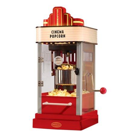 nostalgia electrics popcorn maker how to use