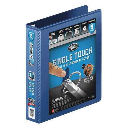 WILSON JONES Ultra Duty Binder,View,D-Ring,1-1/2in,Ny W866-34-295PP