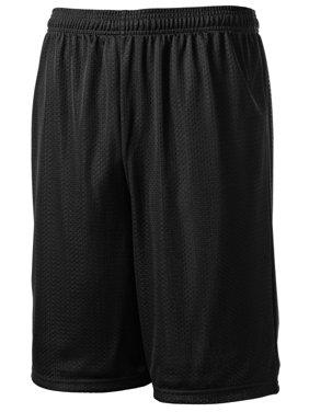 Sport-Tek Men's Elastic Waistband Mesh Short