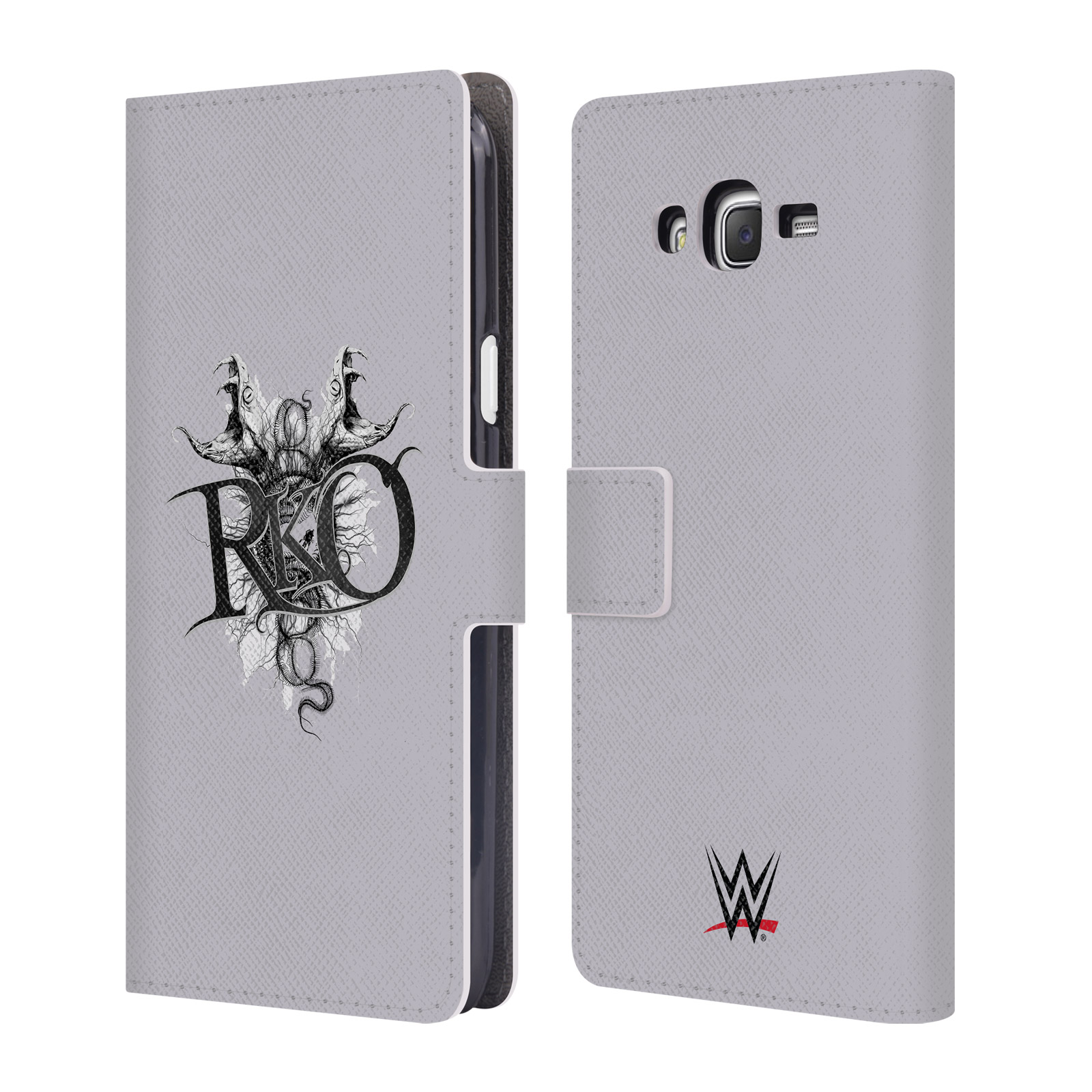 OFFICIAL WWE RANDY ORTON LEATHER BOOK WALLET CASE COVER FOR SAMSUNG PHONES 3