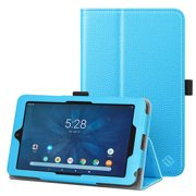 "Folio Case for 7 Inch Onn 7"" Android Tablet - Fintie Protective Stand Cover With Stylus Holder"
