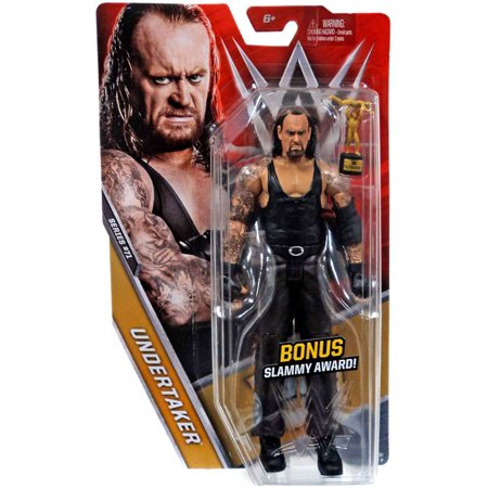 WWE Wrestling Series 71 Undertaker Action Figure [Bonus Slammy Award]](Undertaker Toys)